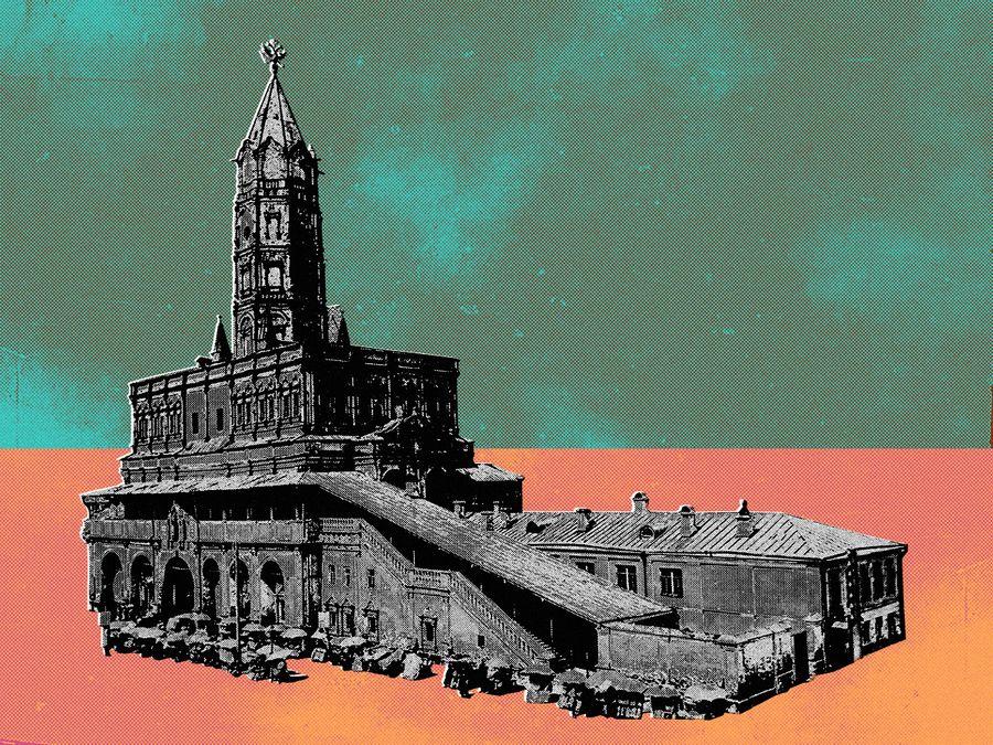 Миф о Сухаревой башне